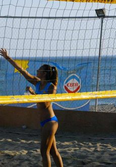 Tortuga beach volley