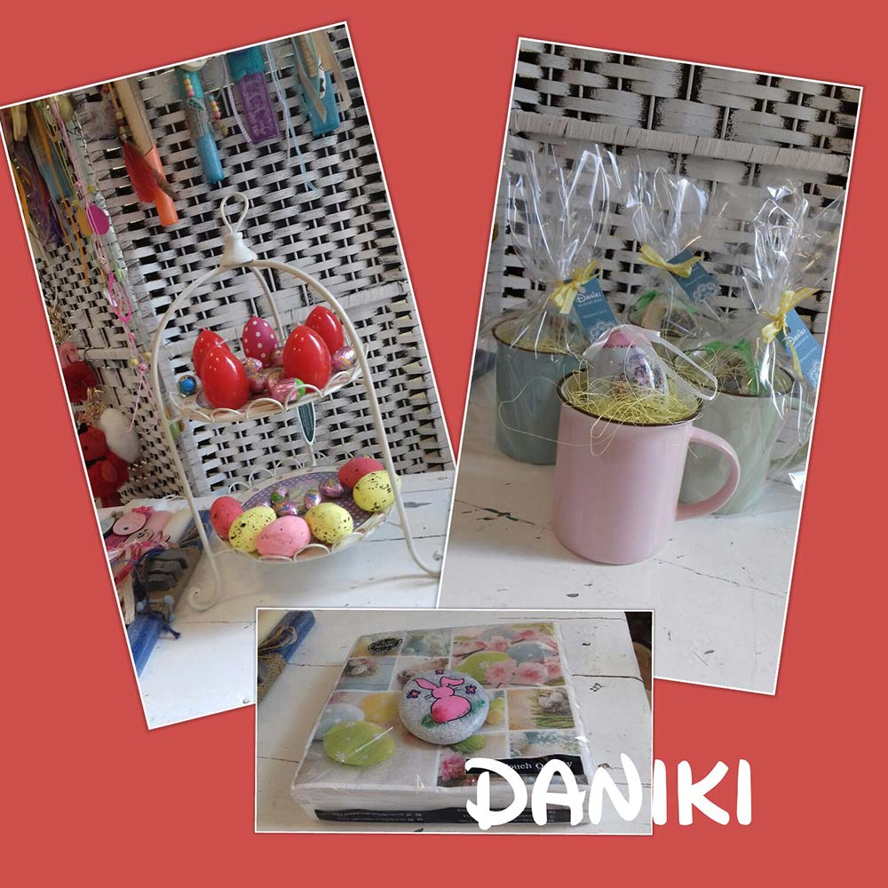 Daniki Handmade stories - Special offer : -10% on all Easter decorations on this Sunday 1-4-2018